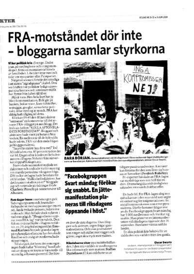Artikel i Resume 2006-06-26 av Oscar Swartz