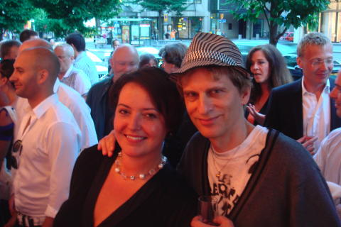 Camilla Lindberg och Oscar Swartz